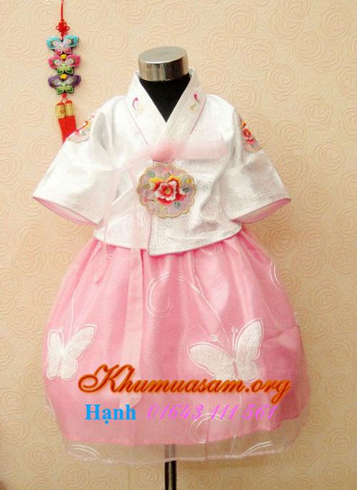 Nơi bạn nên ghé thăm khi mua hanbok trẻ em