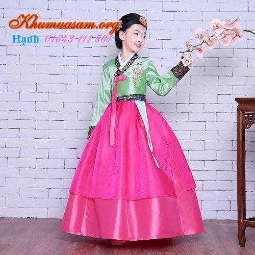 Ngỡ ngàng với Hoài Giang - Nơi bán hanbok trẻ em cực đẹp